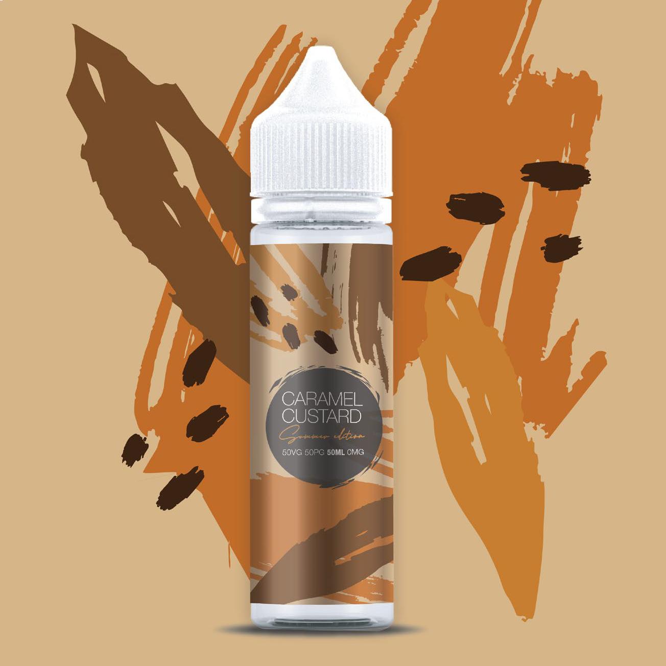 Caramel Custard Elda Summer 60ml 120ml Bottles