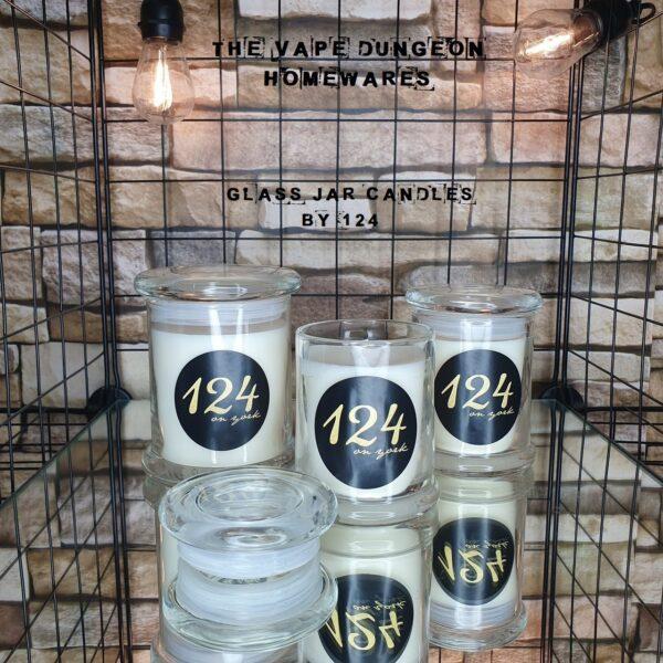 124 on York Jar Candles