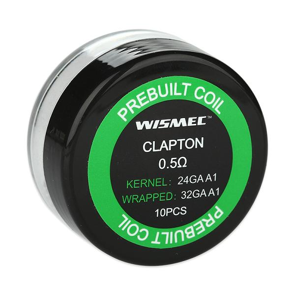 Wismec Pre Made 0.5ohm Clapton Coils