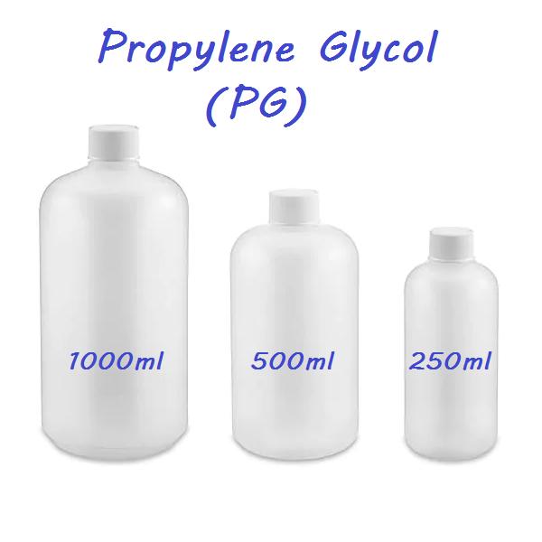 Propylene Glycol PG 250ml 500ml 1000ml Bottles