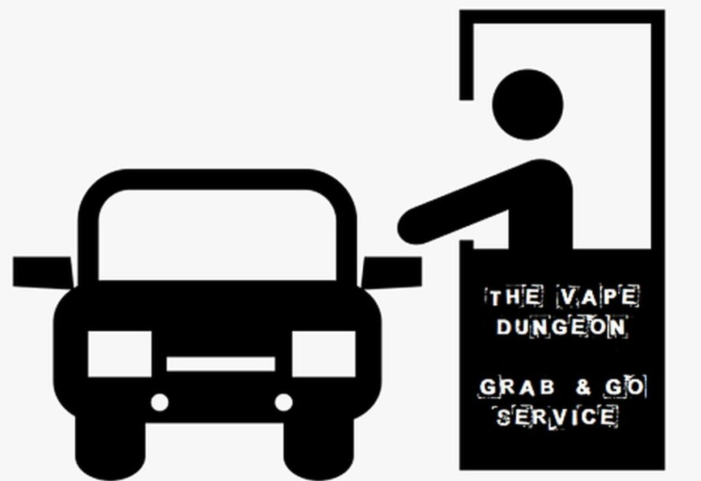 The Vape Dungeon Grab and go service