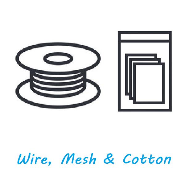Cotton Wire & Mesh